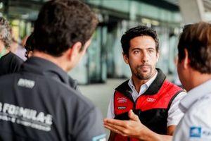 Lucas Di Grassi, Audi Sport ABT Schaeffler, parla alla stampa
