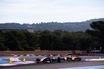 Leonardo Pulcini, Hitech Grand Prix and Sebastian Fernandez, Campos Racing