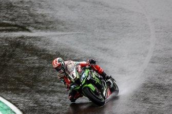 Jonathan Jonathan Rea, Kawasaki Racing Team on wet assessment laps