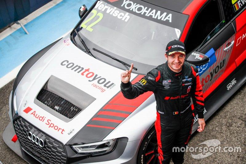 Yarış galibi Frédéric Vervisch, Comtoyou Team Audi Sport Audi RS 3 LMS