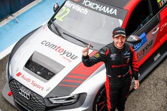 Race winner Frédéric Vervisch, Comtoyou Team Audi Sport Audi RS 3 LMS