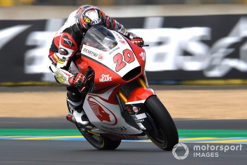 Dimas Ekky Pratama, Honda Team Asia, French Moto2 2019