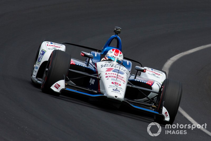 17. Graham Rahal, Rahal Letterman Lanigan Racing Honda
