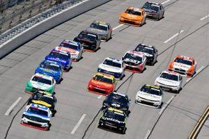 Tyler Reddick, Richard Childress Racing, Chevrolet Camaro Roland and Ross Chastain, Kaulig Racing, Chevrolet Camaro Nutrien Ag Solutions