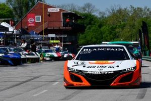 #43, Acura NSX, Bret Curtis and Dane Cameron