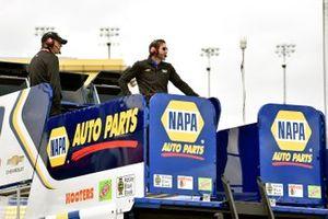 Alan Gustafson, Chase Elliott, Hendrick Motorsports, Chevrolet Camaro NAPA AUTO PARTS