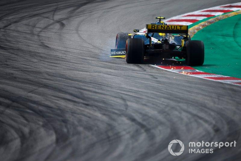Нико Хюлькенберг, Renault Sport F1 Team R.S.19 (поврежденное переднее антикрыло)