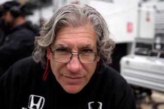 Colton Herta, Harding Steinbrenner Racing Honda, crew