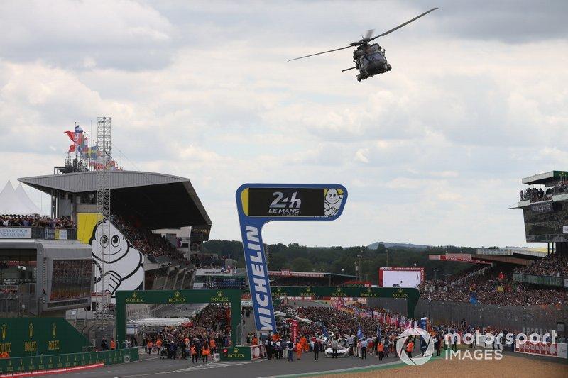 La griglia di partenza di Le Mans