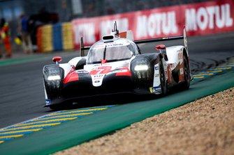 #7 Toyota Gazoo Racing, Toyota TS050 Hybrid: Mike Conway, Kamui Kobayashi, Jose Maria Lopez