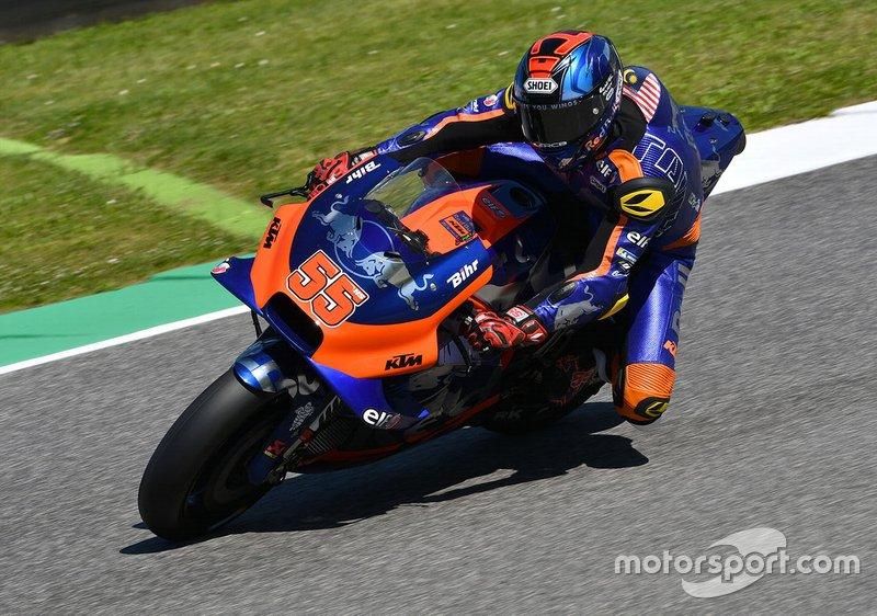 Hafizh Syahrin, Red Bull KTM Tech 3 - 7 caídas