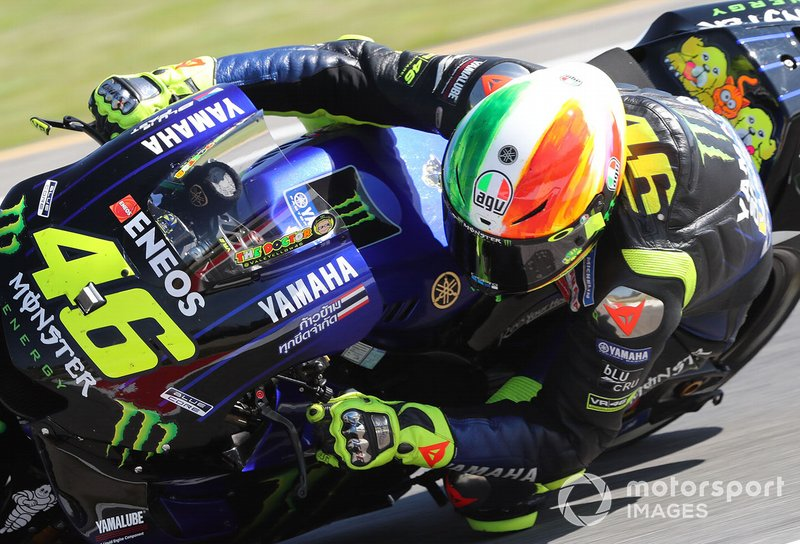Casque de Valentino Rossi - Grand Prix d'Italie