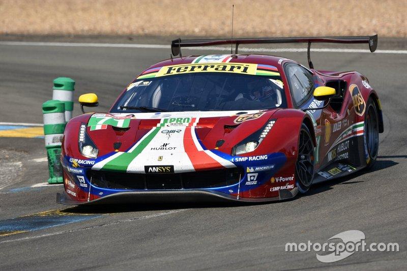 GTE-Pro: #71 AF Corse, Ferrari 488 GTE Evo
