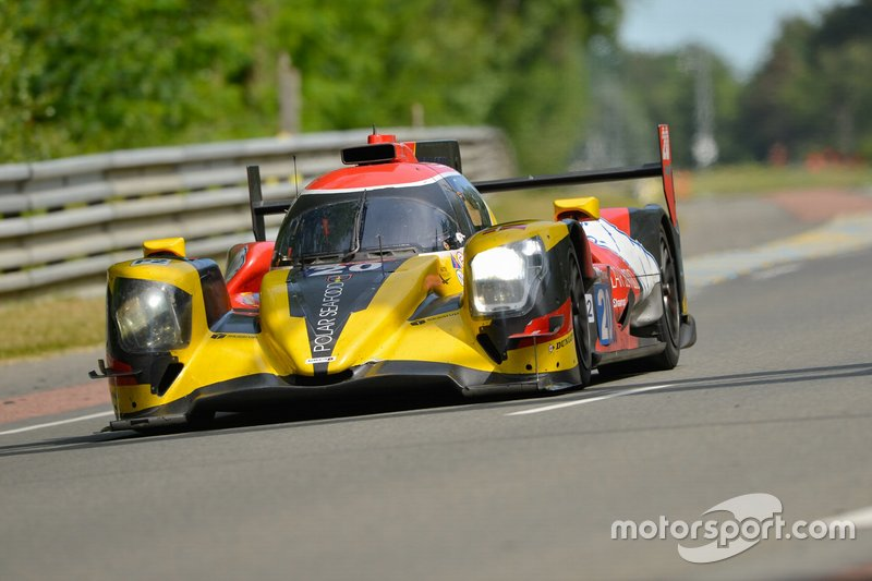 #20 High Class Racing Oreca 07 Gibson: Anders Fjordbach, Denis Andersen, Mathias Beche