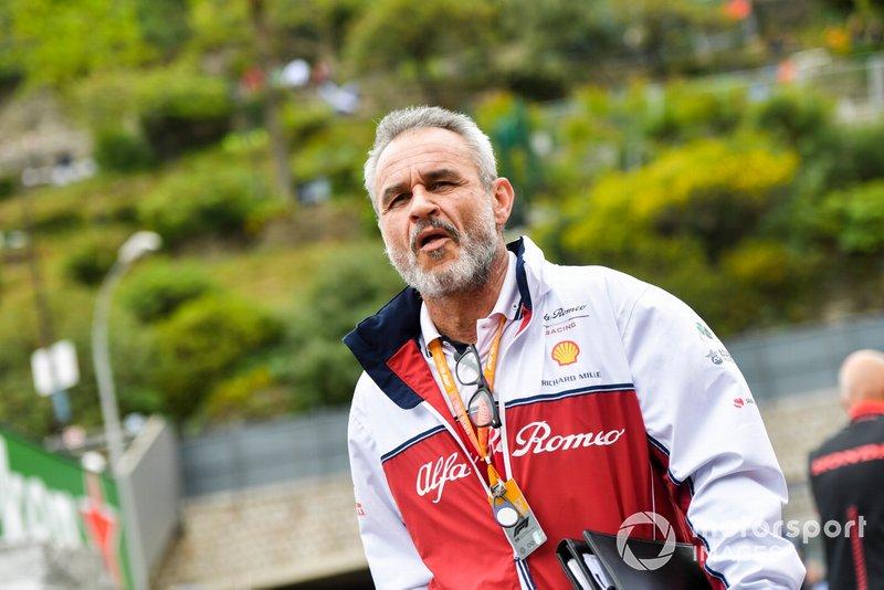 Beat Zehnder, Alfa Romeo Racing