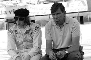 Jackie Stewart avec son patron, Ken Tyrrell