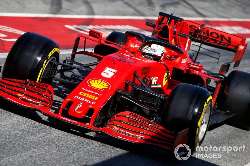 Себастьян Феттель, Ferrari SF1000, 2020 год
