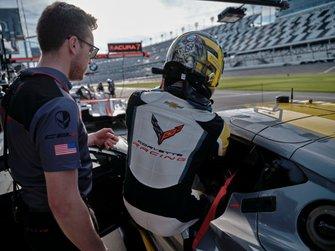 #4 Corvette Racing Corvette C8.R, GTLM: Marcel Fassler