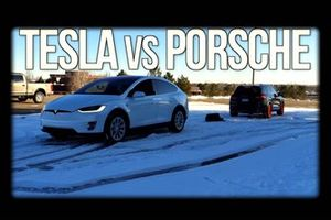 Porsche vs Tesla