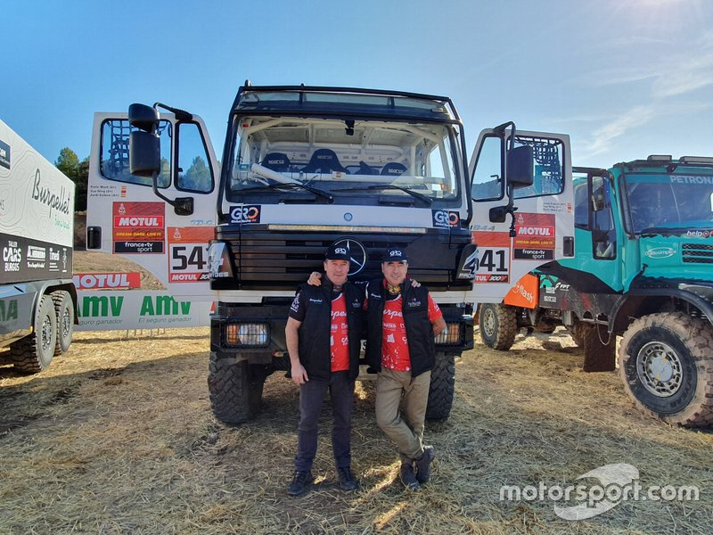 #541 Jordi Esteve, Enric Martí, TH Trucks