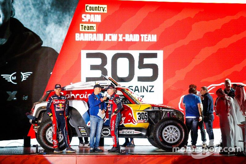 #305 JCW X-Raid Team: Carlos Sainz, Lucas Cruz