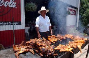 Aspectos de comida mexicana