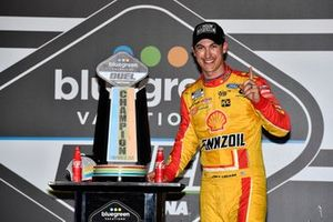 Joey Logano, Team Penske, Ford Mustang Shell Pennzoil wins