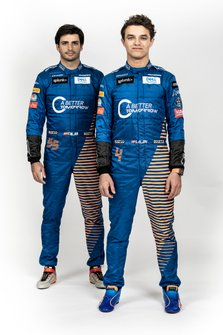 Carlos Sainz Jr., McLaren, Lando Norris, McLaren
