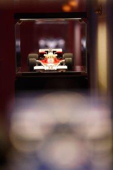 McLaren M23 model on display