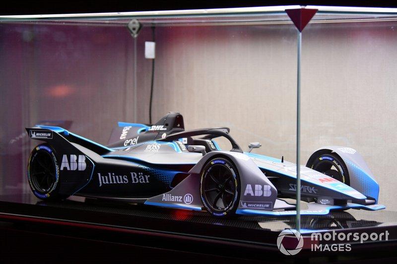 El coche de la Fórmula E