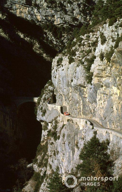 Tommi Makinen, Risto Mannisenmäki, Mitsubishi, al Rally Monte Carlo del 2000
