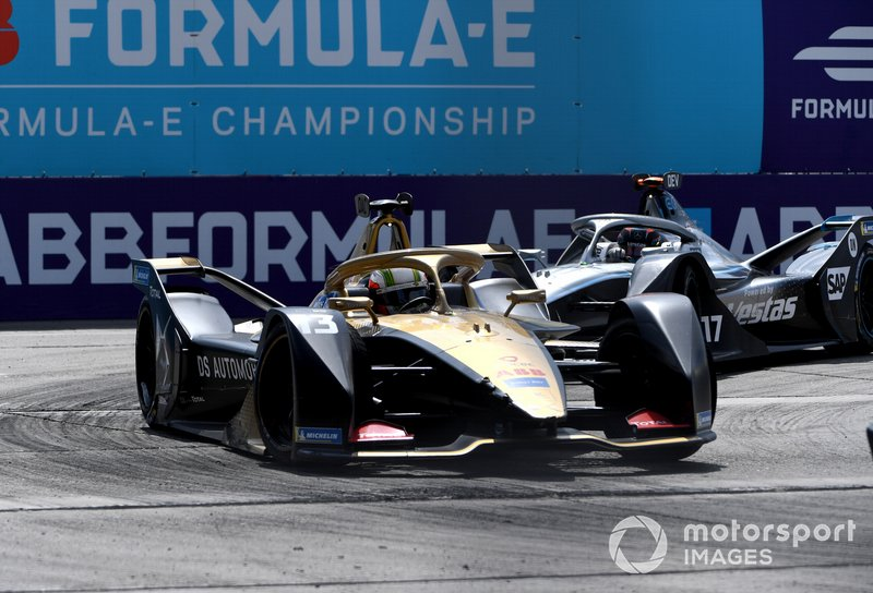 Antonio Felix da Costa, DS Techeetah, DS E-Tense FE20 Nyck De Vries, Mercedes Benz EQ, EQ Silver Arrow 01
