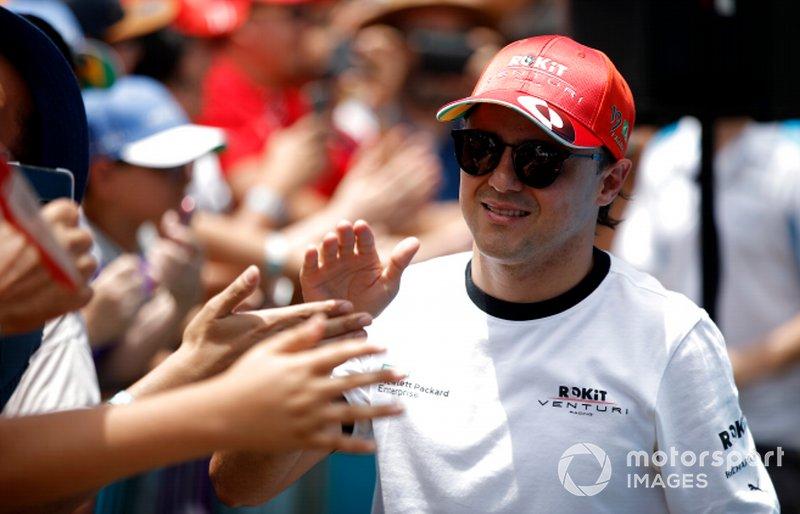 Felipe Massa, Venturi meets fans