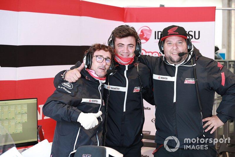 Somkiat Chantra, Honda Team Asia's crew