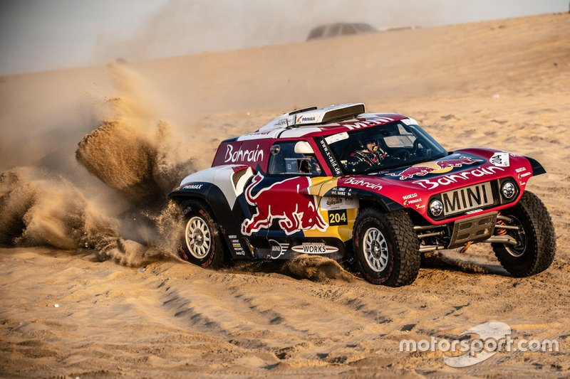 Carlos Sainz, Lucas Cruz, MINI X-Raid