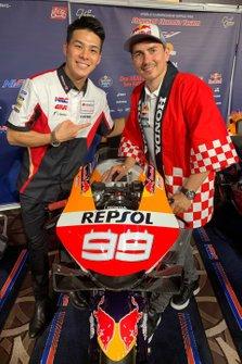 Takaaki Nakagami, Team LCR Honda with Jorge Lorenzo, Repsol Honda Team