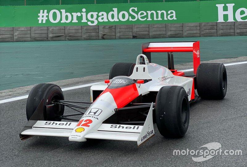 El McLaren MP4/4