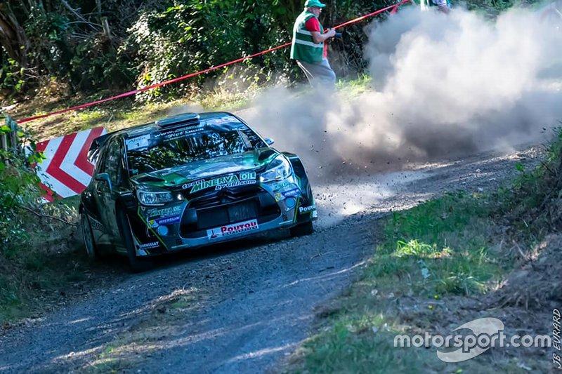 Jean-Charles Beaubelique - Julien Pesenti, Citroen DS3 WRC