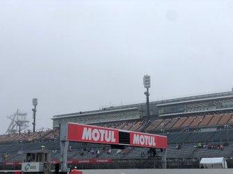 La pluie à Motegi