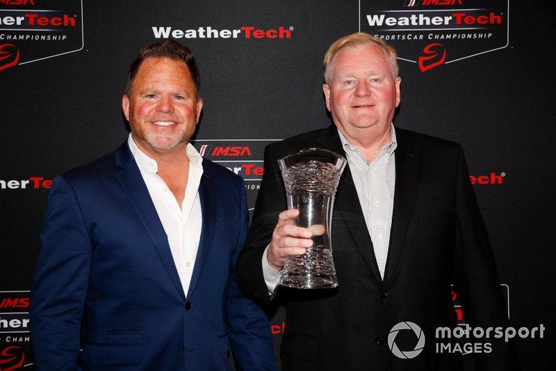 #86 Meyer Shank Racing w/ Curb-Agajanian Acura NSX GT3, GTD: Michael Shank. Jim Meyer