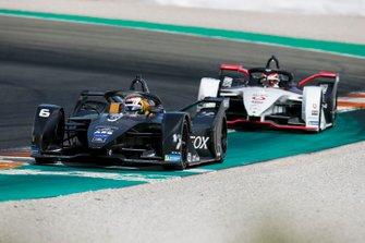 Brendon Hartley, Dragon Racing, Penske EV-4 Neel Jani, Porsche, Porsche 99x Electric