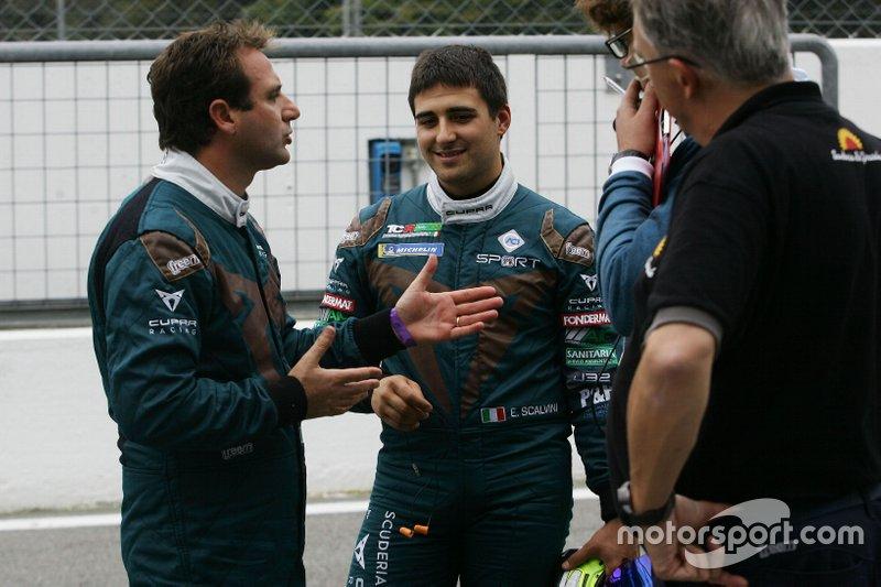 Eric Scalvini e Salvatore Tavano, Scuderia del Girasole by Cupra Racing, Cupra TCR