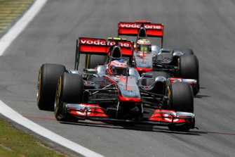 Jenson Button, McLaren, Lewis Hamilton, McLaren