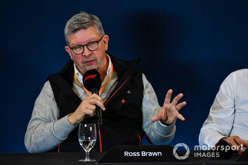 """""""Não podemos parar, mas não tomaremos riscos desnecessários"""". Essa é a visão de Ross Brawn, diretor de esporte a motor da F1 quando perguntado sobre o destino das três primeiras etapas do campeonato: Austrália, Bahrein e Vietnã"""