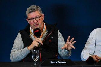 Ross Brawn, directeur général de la Formule 1