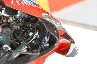 Detalle de la moto de Danilo Petrucci, Ducati Team