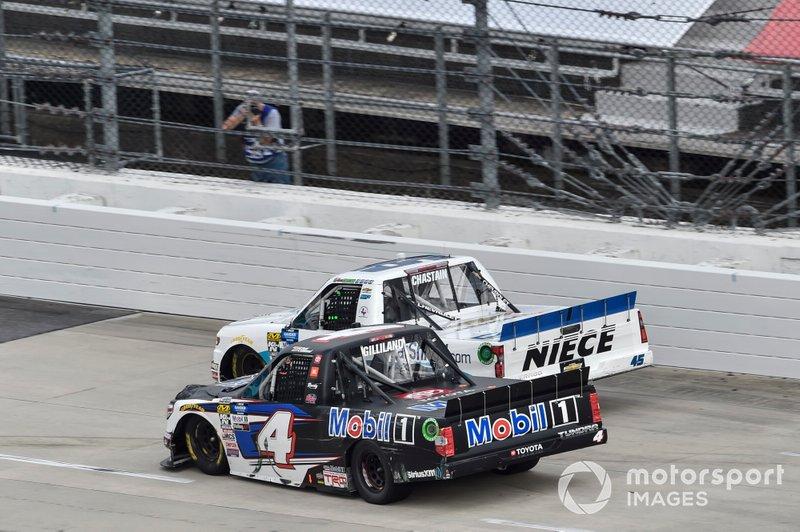 Ross Chastain, Niece Motorsports, Chevrolet Silverado CarShield, Todd Gilliland, Kyle Busch Motorsports, Toyota Tundra Mobil 1