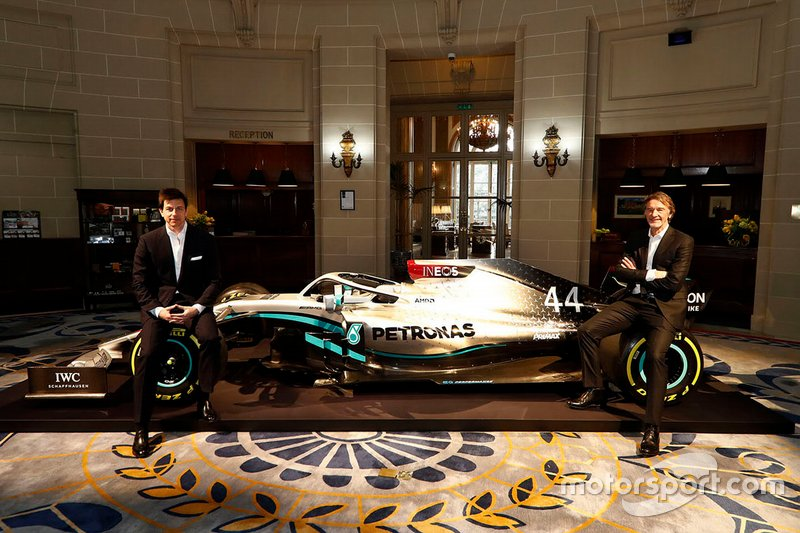 Toto Wolff, Mercedes AMG F1 Director de Motorsport, Sir Jim Ratcliffe, Presidente Ineos