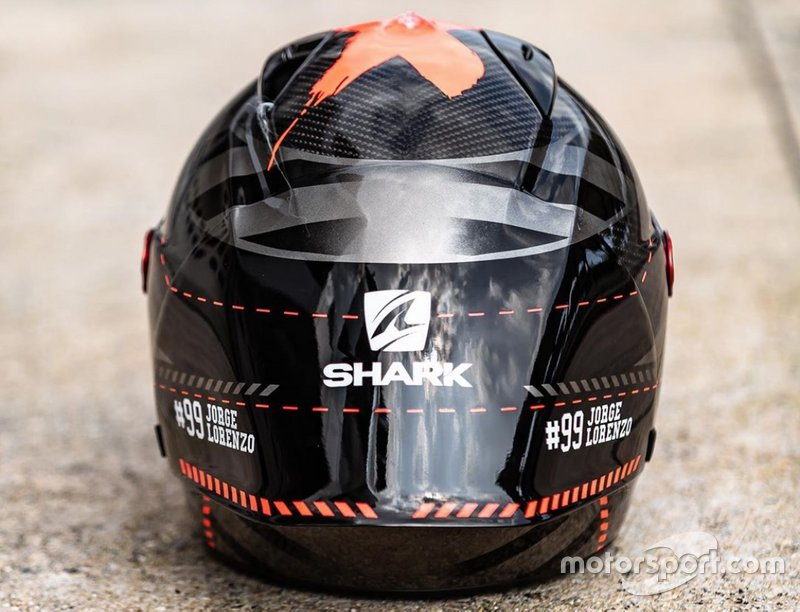 Casco Jorge Lorenzo test 2020