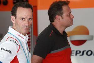 Alberto Puig, Repsol Honda Team Principal, Emilio Alzamora